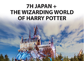 7H JAPAN WITH THE WIZARDING WORLD OF HARRY POTTER