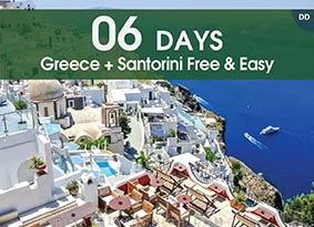 6H GREECE + SANTORINI