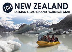 10H NEW ZEALAND TASMAN GLACIER