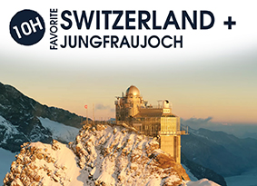 10H SWITZERLAND WITH JUNGFRAUJOCH