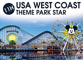 11H USA WEST COAST THEME PARK STAR
