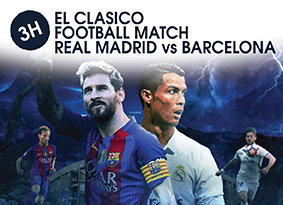 3H EL CLASICO FOOTBALL MATCH