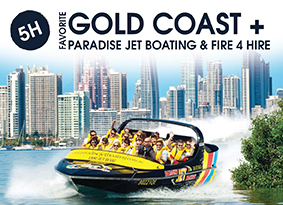 5H Gold Coast WITH Paradise Jet Boating