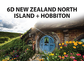 6D/4N BEST DEAL NEW ZEALAND