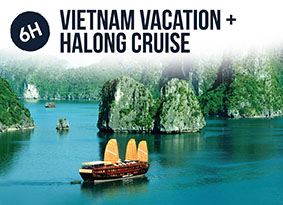 6H VIETNAM WITH HALONG CRUISE