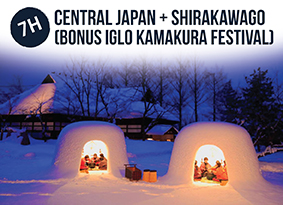 7H CENTRAL JAPAN WITH SHIRAKAWAGO