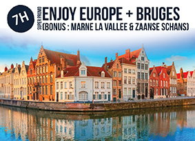 7H EUROPE WITH BRUGES