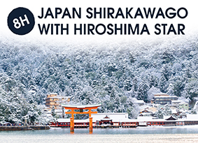 8H JAPAN SHIRAKAWAGO WITH HIROSHIMA STAR