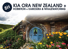 8H KIA ORA NEW ZEALAND WITH HOBBITON