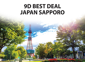 9D BEST DEAL JAPAN SAPPORO